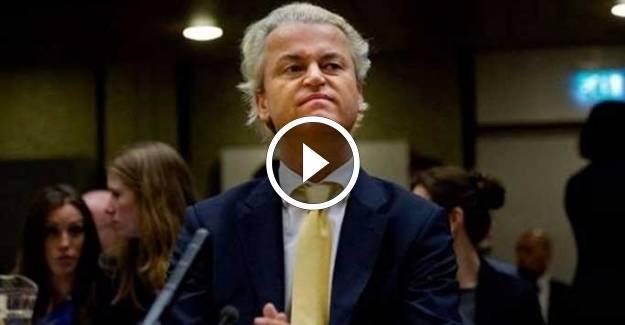 Wilders: İslam bayrağını taşıyan Erdoğan'ı istemiyoruz